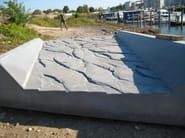 Letto di fiume prefabbricato su matrice 2/173 Santa Cruz