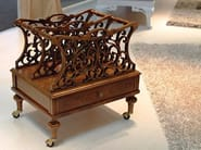 Portariviste in legno massello MATTHEWS | Portariviste - Arvestyle