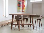 Rectangular solid wood high table MAVERICK   High table - KFF