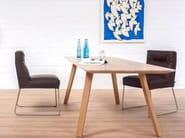 Rectangular solid wood table MAVERICK | Rectangular table - KFF