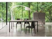 Rectangular metal table MAX | Rectangular table - Dall'Agnese