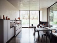 Melamine Linear fitted kitchen without handles MAXIMA 2.2 - COMPOSITION 5 - Cesar Arredamenti