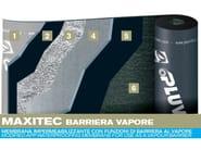 Prefabricated bituminous membrane MAXITEC VAPOUR BARRIER - PLUVITEC