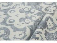 Handmade rectangular rug MAZARIN SFUMATO LAKE - EDITION BOUGAINVILLE