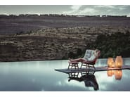 High-back garden armchair MBRACE | High-back garden armchair - Dedon