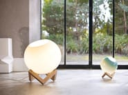 Wood and glass table lamp MCE LAMP - PER/USE