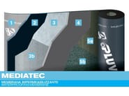 Prefabricated bituminous membrane MEDIATEC - PLUVITEC