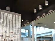 LED Ceiling adjustable aluminium light projector MEGA BASE - LED BCN Lighting Solutions
