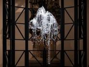 Blown glass chandelier MEMENTO MORI - Lasvit