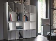 Open modular plate bookcase METAL   Modular bookcase - Dall'Agnese