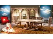 Wooden bookcase METAMORFOSI | Bookcase - Carpanelli Classic
