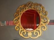 Wall-mounted framed mirror METAMORFOSI | Mirror - Carpanelli Classic