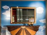 Classic style framed mirror METAMORFOSI | Mirror - Carpanelli Classic
