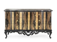Lacquered ebony dresser MG 6824 - OAK Industria Arredamenti