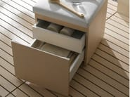 English oak bathroom stool MH | English oak bathroom stool - TOTO
