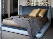 Fabric double bed with upholstered headboard MIDNIGHT - FLEXFORM