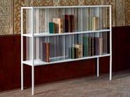 Lacquered metal bookcase MILLE RIGHE - da a