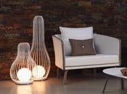Aluminium Floor lamp MILO FABRIC | Floor lamp - Talenti