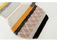 Striped wool rug MINI CARAMELO - GAN By Gandia Blasco