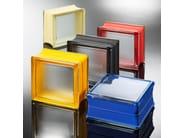 Facciata strutturale vetrata / Blocco di vetro MINI - Seves S.p.A. Divisione Glassblock