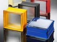 Structural glass facade / Glass block MINI - Seves S.p.A. Divisione Glassblock