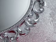 Oval wall-mounted framed mirror MINIMAL BAROQUE | Wall-mounted mirror - Modenese Gastone group