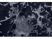 Patterned handmade rectangular rug MIRAGE MIST - EDITION BOUGAINVILLE