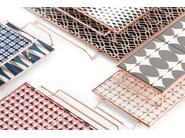 Vassoio rettangolare in alluminio MIX&MATCH | Vassoio rettangolare - GAN By Gandia Blasco