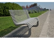 Steel Bench MOBY - LAB23 Gibillero Design Collection