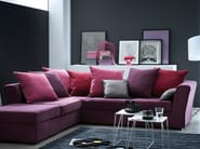 Corner fabric sofa MODÈLE D | Corner sofa - Home Spirit