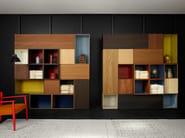 Libreria a giorno laccata in MDF MODERN   Libreria - Porro