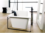 Rectangular Krion® bathtub MODUL | Bathtub - Systempool