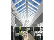 Glass and steel roof window MODULAR SKYLIGHTS - VELUX