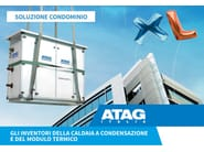 Heating unit and burner MODULO XL - ATAG Italia