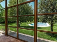 Thermal break Corten™ patio door MOGS 65® TAGLIO TERMICO COR-TEN - Mogs srl unipersonale