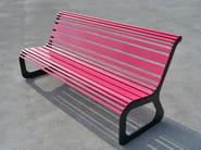 Steel Bench MOKO | Bench - LAB23 Gibillero Design Collection