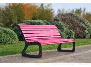 Steel Bench MOKO - LAB23 Gibillero Design Collection