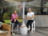 Outdoor heater / misting system MONTECRISTO - Enjoy your Life by Idrobase Group