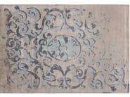 Handmade rectangular rug MONTESPAN SFUMATO GHOST PASTEL - EDITION BOUGAINVILLE