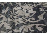 Handmade rectangular rug MONTESPAN VINTAGE ARTY GREY - EDITION BOUGAINVILLE