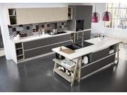 Cucina componibile con maniglie MOON DUNA DIVA - ARREDO 3