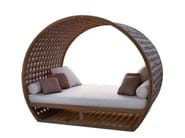 Letto da giardino matrimoniale a igloo MOONLIGHT 23283 - SKYLINE design
