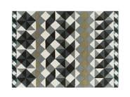 Handmade wool rug with geometric shapes MOSAÏEK - GAN By Gandia Blasco