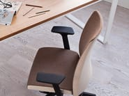 Task chair with 5-Spoke base with armrests MOTTO 10SFL - profim