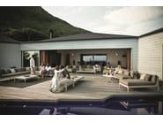 Rectangular HPL garden side table MU   Rectangular coffee table - Dedon