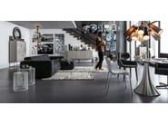 Adjustable ceiling lamp MULTI SPEAKER - KARE-DESIGN