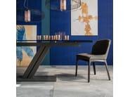 Upholstered chair MUSA - Cattelan Italia