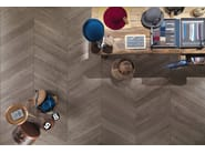 Indoor/outdoor porcelain stoneware wall/floor tiles with wood effect MY PLANK Heritage - Italgraniti