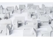 Concrete Furniture knob / architectural model Miniature Home Concrete #9 - Material Immaterial studio