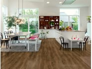 Vinyl flooring with wood effect MODERN COFFEE OAK - Pergo
